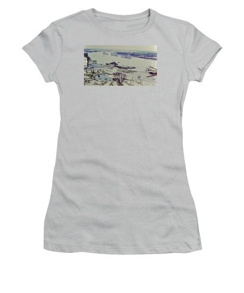 Saigon River, Vietnam 1968 Women's T-Shirt (Athletic Fit)