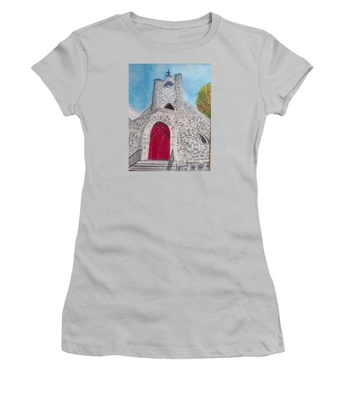 Saint James Episcopal Church Women's T-Shirt (Athletic Fit)