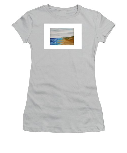 Salty Morning Women's T-Shirt (Athletic Fit)