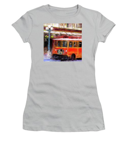 San Antonio 5 Oclock Trolley Women's T-Shirt (Athletic Fit)