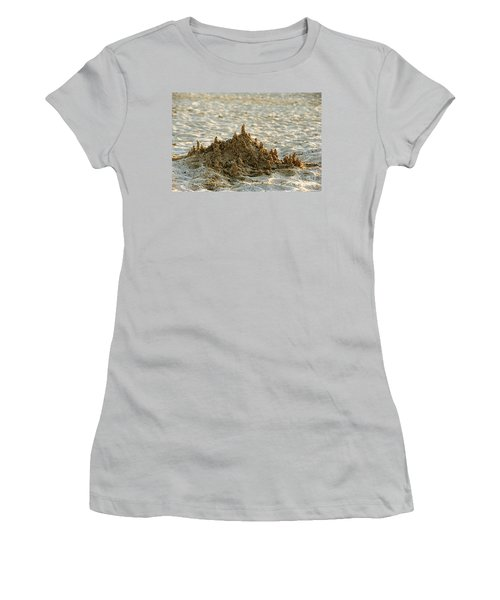 Sand Castle Women's T-Shirt (Athletic Fit)