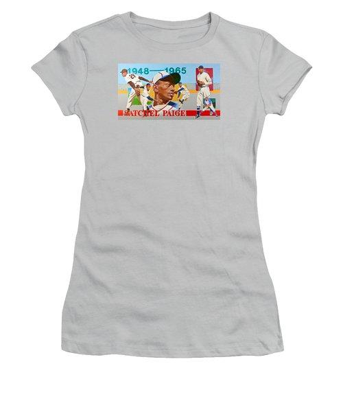 Satchel Paige Women's T-Shirt (Athletic Fit)