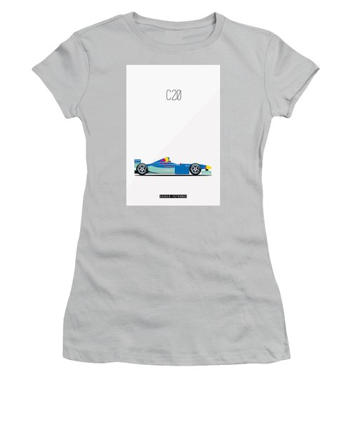 Sauber Petronas C20 F1 Poster Women's T-Shirt (Athletic Fit)