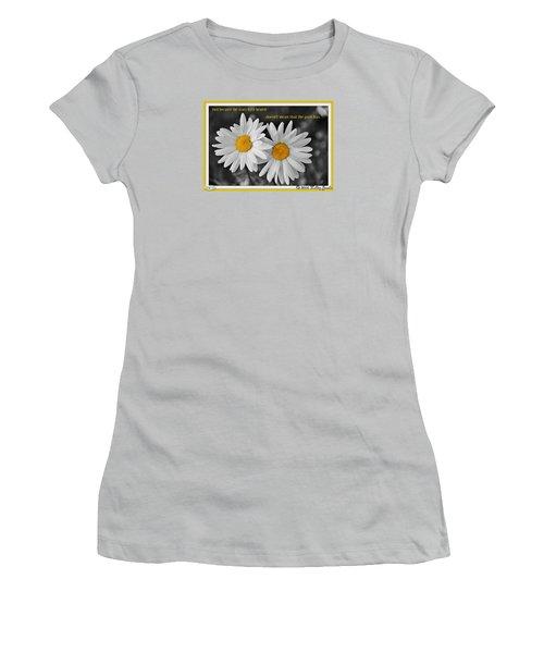 Scars Have Healed Women's T-Shirt (Junior Cut)