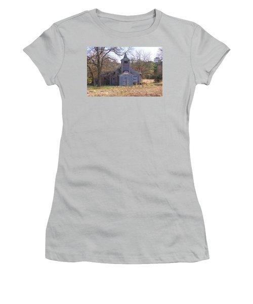 Schoolhouse#3 Women's T-Shirt (Athletic Fit)