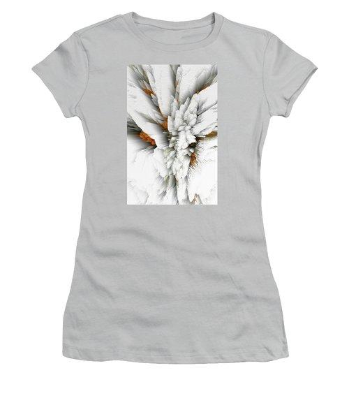 Women's T-Shirt (Athletic Fit) featuring the digital art Sculptural Series Digital Painting 05.072311 by Kris Haas