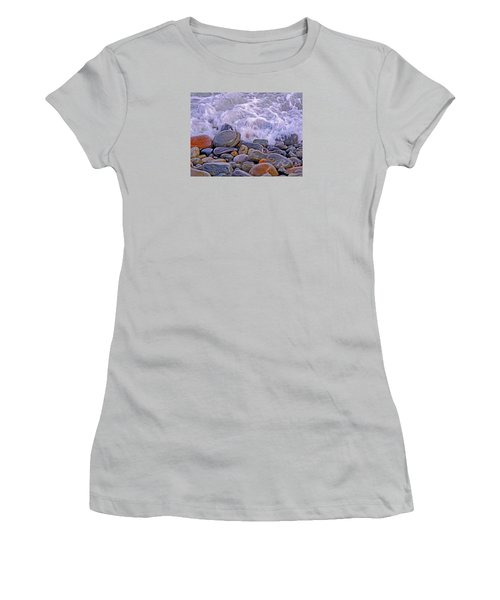 Sea Covers All  Women's T-Shirt (Junior Cut) by Lynda Lehmann