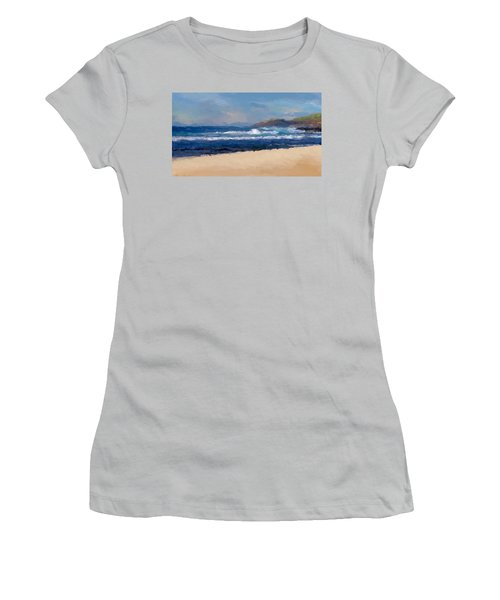 Sea Shore Women's T-Shirt (Athletic Fit)
