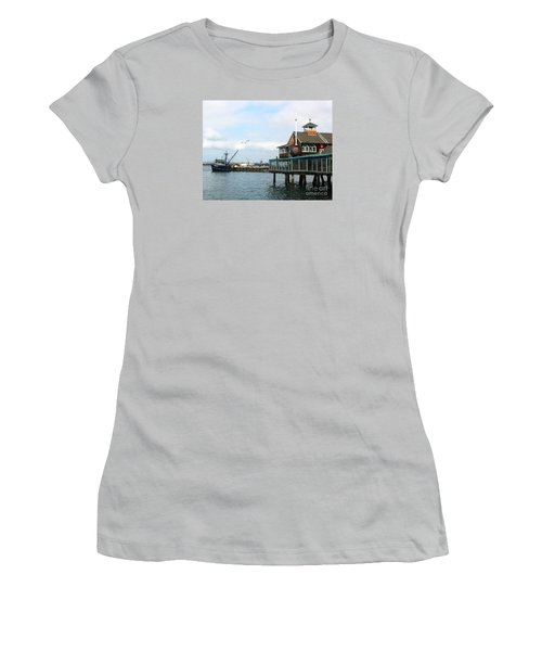 Seaport Village San Diego-2 Women's T-Shirt (Athletic Fit)