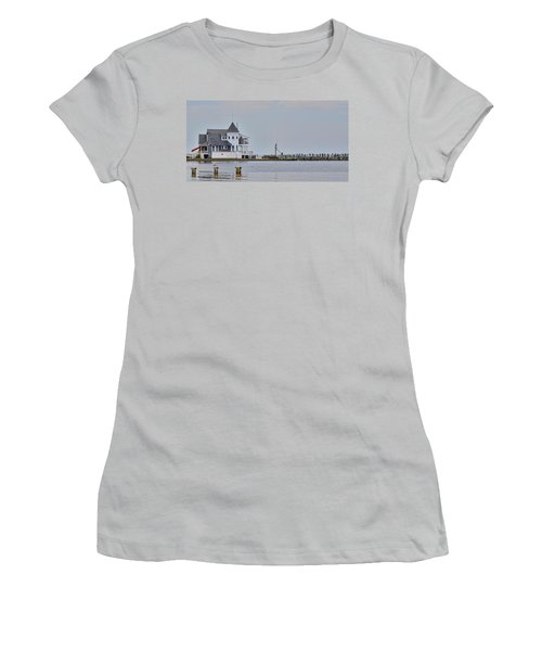 Seaside Park Yacht Club Women's T-Shirt (Athletic Fit)