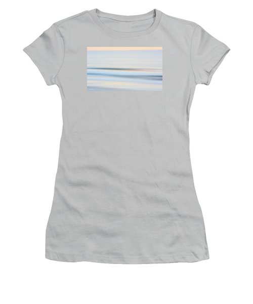 Seaside Waves  Women's T-Shirt (Athletic Fit)