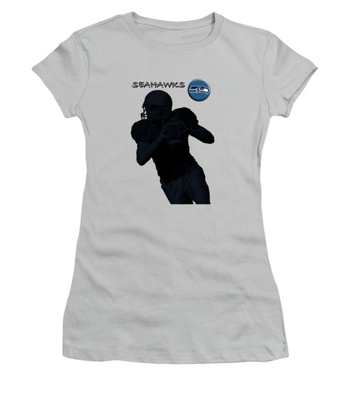 Seattle Seahawks Football Women's T-Shirt (Athletic Fit)