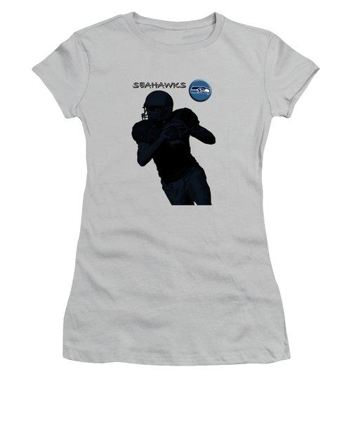 Seattle Seahawks Football Women's T-Shirt (Athletic Fit)