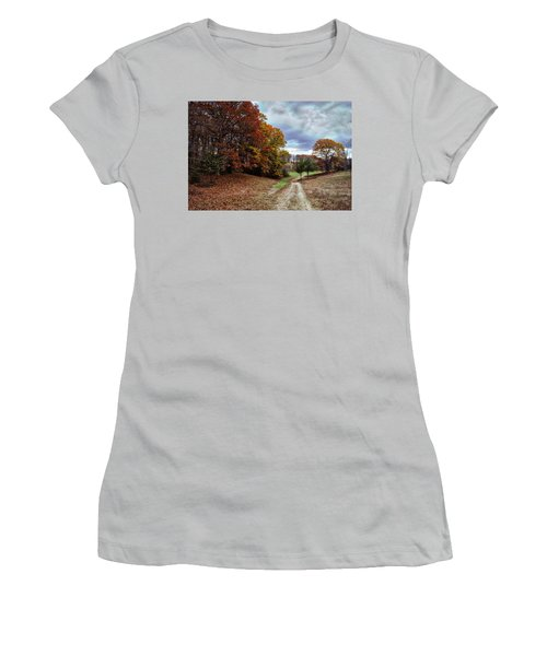 Seldom Traveled 0609 Women's T-Shirt (Athletic Fit)