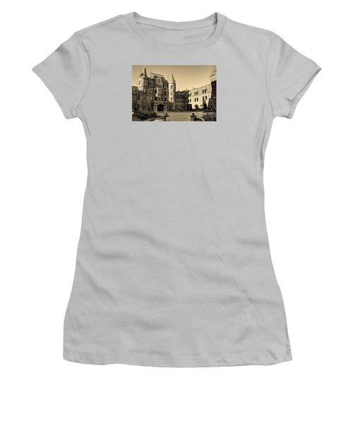Sepia High Women's T-Shirt (Junior Cut) by Chris Anderson