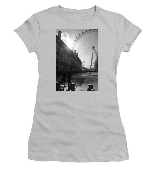 Set Of Wheels Women's T-Shirt (Athletic Fit)