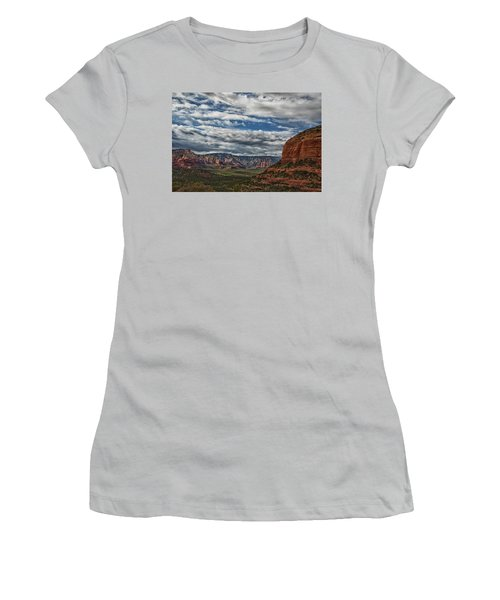 Seven Canyons Women's T-Shirt (Junior Cut) by Tom Kelly