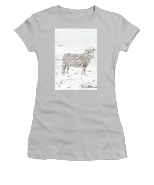 Sheep Women's T-Shirt (Athletic Fit)