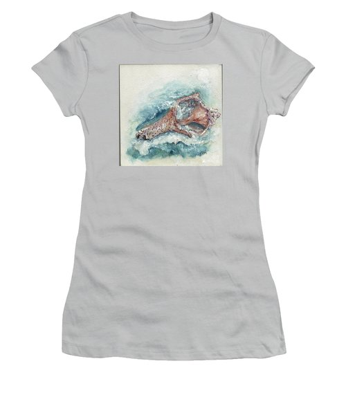 Shell Gift From The Sea Women's T-Shirt (Athletic Fit)