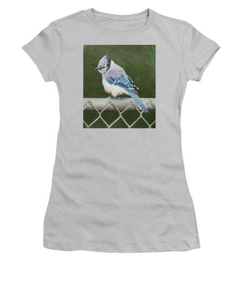 Sherrie's Bluejay Women's T-Shirt (Junior Cut) by Constance DRESCHER