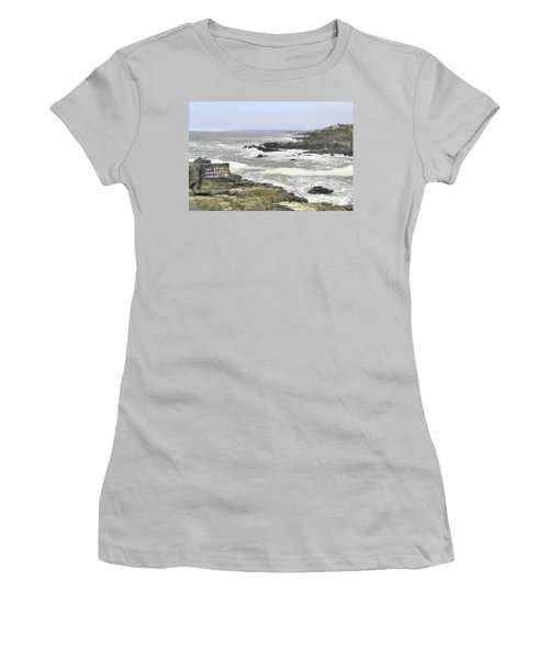 Shipwrecked Women's T-Shirt (Athletic Fit)
