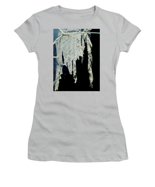 Shredded Curtains Women's T-Shirt (Athletic Fit)