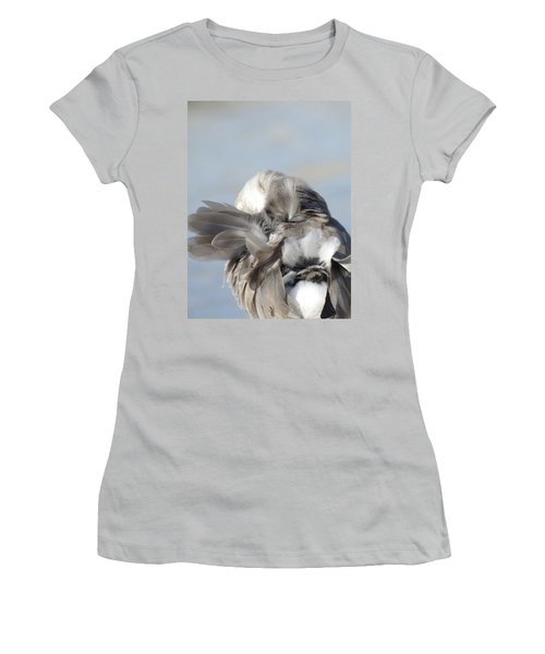 Shuffling Women's T-Shirt (Athletic Fit)