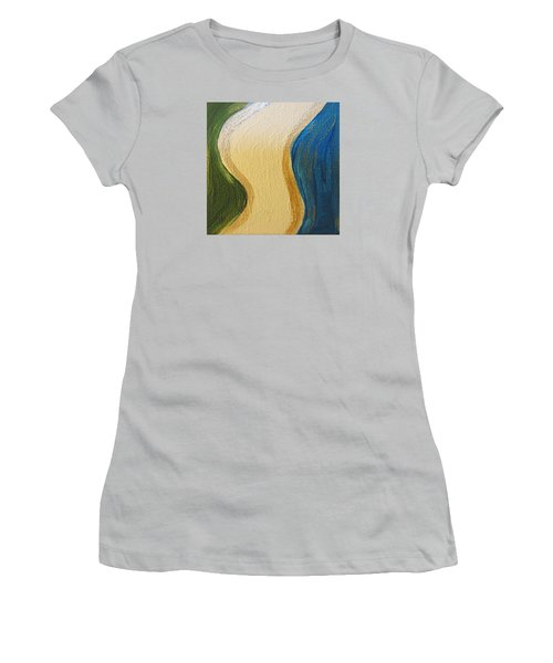 Sierra Leone Coastline - Freetown - Sierra Leone  Women's T-Shirt (Athletic Fit)