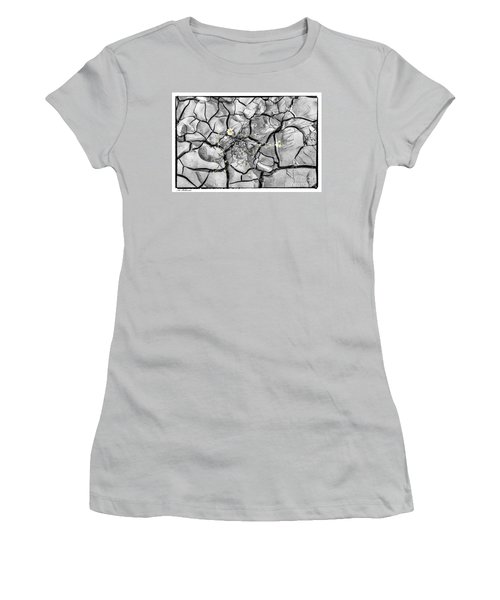 Women's T-Shirt (Junior Cut) featuring the photograph Signs Of Life by Arik Baltinester