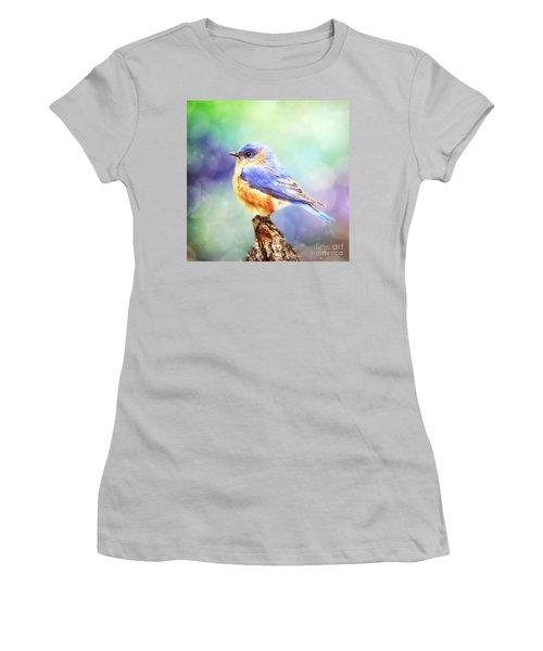Silent Reverie Women's T-Shirt (Junior Cut) by Tina LeCour
