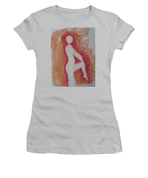 Silhouetted Figure Women's T-Shirt (Athletic Fit)