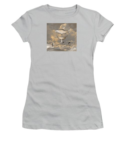 Silver Mood Women's T-Shirt (Athletic Fit)