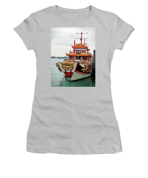 Singapore Dinner Transport Women's T-Shirt (Athletic Fit)