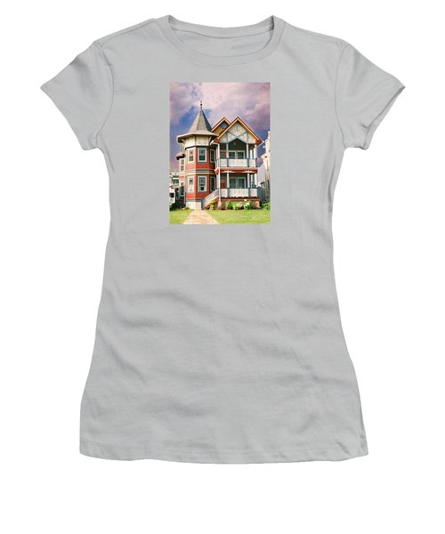 Sisters Panel Two Of Triptych Women's T-Shirt (Junior Cut) by Steve Karol