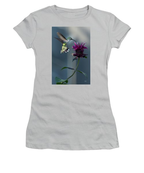 Women's T-Shirt (Junior Cut) featuring the photograph Smiles In The Garden by Everet Regal