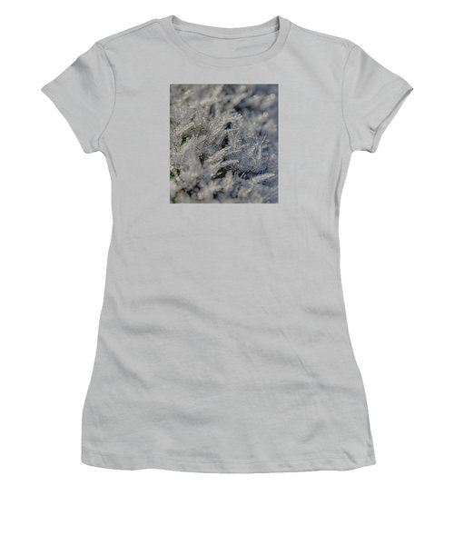 Snowchrystals  Women's T-Shirt (Junior Cut)