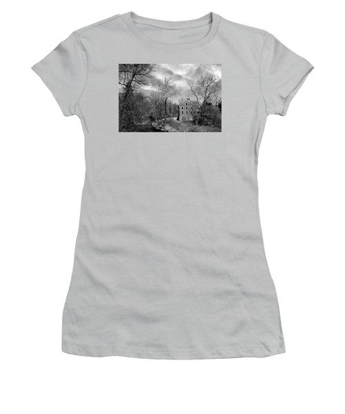 Women's T-Shirt (Junior Cut) featuring the photograph Snuff by Diana Angstadt
