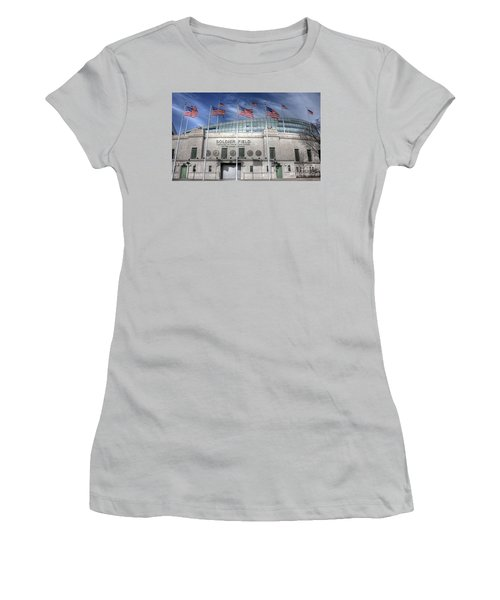 Soldier Field Women's T-Shirt (Athletic Fit)