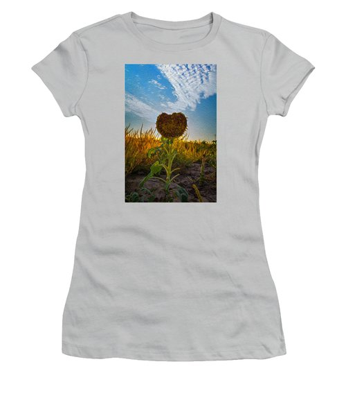 Some Flower Women's T-Shirt (Athletic Fit)