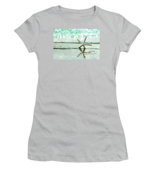Somewhere You Feel Free Women's T-Shirt (Junior Cut) by Laura Fasulo