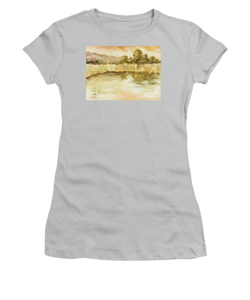 Sonoma Pond Ca Women's T-Shirt (Athletic Fit)