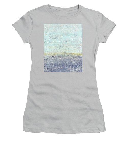 Sonoran Desert #3 Southwest Vertical Landscape Original Fine Art Acrylic On Canvas Women's T-Shirt (Athletic Fit)