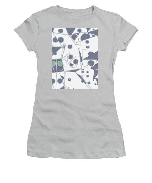 Space Warp  Women's T-Shirt (Junior Cut) by Moustafa Al Hatter