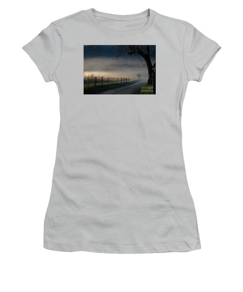 Sparks Lane Sunrise Lr3 Edition Women's T-Shirt (Athletic Fit)