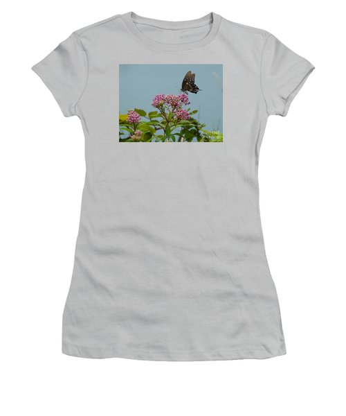 Spicebush Butterfly Women's T-Shirt (Athletic Fit)
