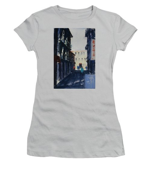 Spofford Street4 Women's T-Shirt (Athletic Fit)