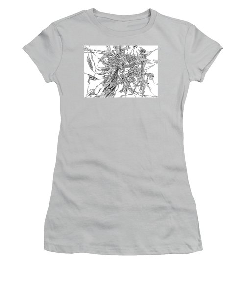Spring Burst Women's T-Shirt (Junior Cut) by Charles Cater