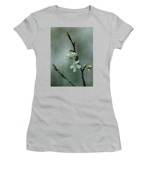 Spring Rain Mood Women's T-Shirt (Athletic Fit)