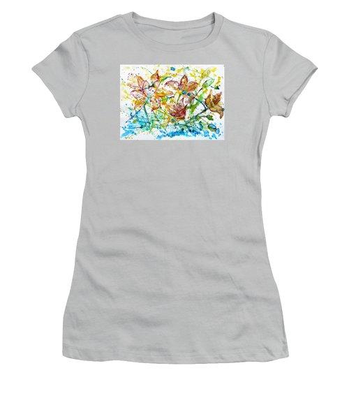 Spring Rhapsody Women's T-Shirt (Junior Cut) by Jasna Dragun