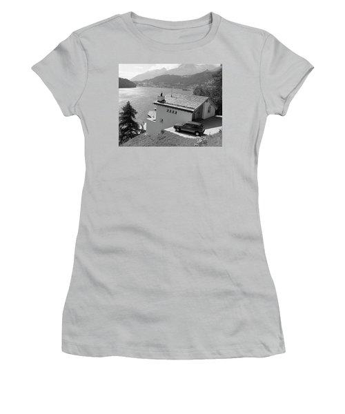St Moritz Women's T-Shirt (Junior Cut) by Jim Mathis